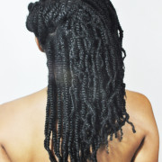 natural hair extensions braids bellecocoa Leslie Banks Hamilton